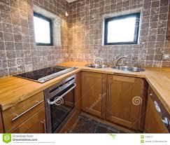 cuisine en dur élément de cuisine image stock image du propre fraise 13868731