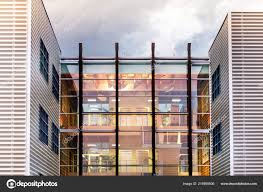 100 Architectural Design Office Unique Modern Building Clouds Reflecting