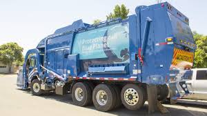 The Brand New Garbage Truck On Route - YouTube