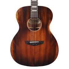 DAngelico Premier Tammany Aged Natural OM Acoustic Guitar