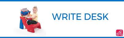 Buy Step2 Write Desk At by Amazon Com Step2 Write Desk Toys U0026 Games