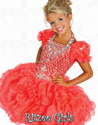 girls pageant dresses ritzee b524 size 2 neon pink