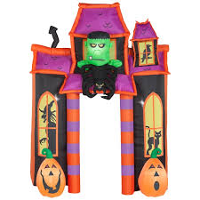 Disney Halloween Airblown Inflatables by Airblown Inflatable Haunted House Archway