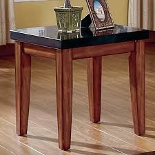 steve silver company montibello granite top end table mg700e
