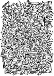 Zen Anti Stress Adult Relax Squares Coloring Pages Printable And Book To Print For Free Find More Online Kids Adults Of