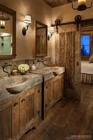 46 Wonderful Rustic Bathroom Decorating IdeasHOMEDECORT