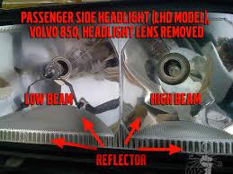850 headlight disassembly photos