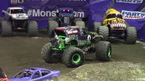 Monster Jam Freestyle Contest At Budweiser Gardens 2017 - YouTube
