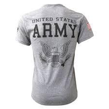 army logo tri blend t shirt w flag heather wolverine