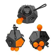 12 Sided Fidget Cube Anti Anxiety Toy