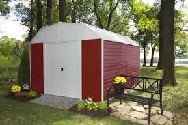 Arrow Metal Shed Floor Kit by Arrow Red Barn 10x14 Metal Shed Rh1014 C1 Free Shipping