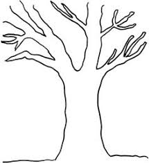 Bare Tree Coloring Pages 01