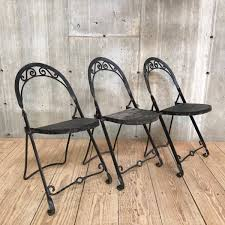 Set Of Three Vintage Folding Wrought Iron Chairs Vintage Folding Chair Folding Chairs Yellow Metal C1960 Silver Vintage Wood Chair Pair Louis Rastter Sons Chairs Antique By Venesta In Ig6 Redbridge Second Hand Mid Century A Pair Sold Of 1950s Cosco Reupholstered 2 Fifties Foldable Sarah Coleman On Instagram Mini Lv Are All