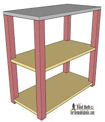 Free Easy Small Woodworking Plans by Remodelaholic Diy Small Open Shelf Building Plan