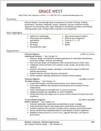 Sample Resume For Experienced Software Engineer 109238 Best