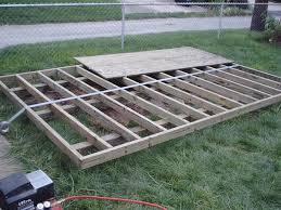 storage shed foundation which type is best garden pinterest