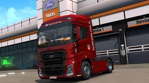 100 36 Ford Truck FORD FMAX V10 FIXED 1X TRUCK Euro Simulator 2 Mods