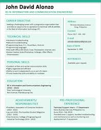 Information Technology Student Resume Examples Of Refrence Coal Mining Rhcrossfitrespectcom For Graduate Best Sample