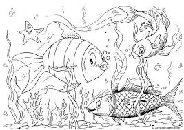 Crafty Ideas Fish Printable Coloring Pages