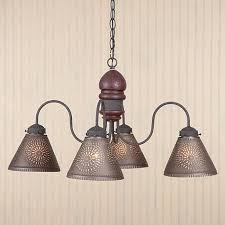 Mexican Punched Tin Lamp Shades by 15 Best Ideas Of Punched Tin Lighting Fixtures