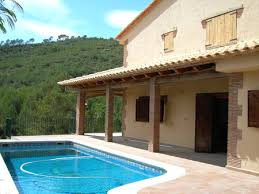 Spanish Property For Sale In Sitges The Surrounding Hills Rustic Style Villa At 10