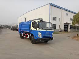 100 Rubbish Truck China 3T Compression Rear Loading China 3t