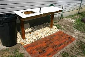 Fish Cleaning Table With Sink Bass Pro by Outdoor Fish Cleaning Table Outdoor Designs