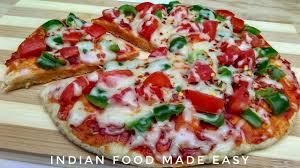 Tawa Pizza Recipe In Hindi By Indian Food Made Easy