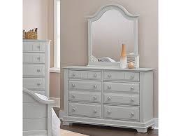 Vaughan Bassett Dresser With Mirror by Vaughan Bassett Cottage Double Dresser And Mirror Olinde U0027s