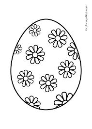 Free Easter Egg Coloring Pages 09