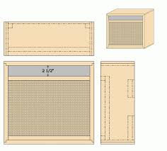 Fender Bassman Cabinet Plans by Guitar Amplifier Cabinet Plans Memsaheb Net