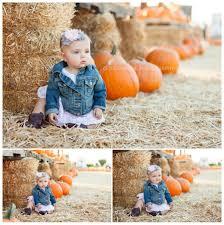 Pumpkin Patch Santa Clarita by Brooklyn U0027s 8 Month Portraits At The Pumpkin Patch U2013 Baby U0027s First