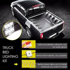 DOXINGYE 8Pcs 5030SMD 24LED Truck Bed Light Strips 2400 Lumens Truck ... Aura Led Truck Bed Strip Lighting Kit Rgbw Multicolor Full 2 X 60 Smart Rgb Lights W Soundactivated Function Truxedo Blight Battery Powered Light Bluewater Under Rail Standard Bw Heavy Hauler 2pcs Rock 48 Leds 8 White Square Switch Xprite How To Install Access Youtube Multi Color Super Bright Work 8pcs 2009 2014 Ingrated F150ledscom Amazoncom Homeyard 2pcs Tailgate Cargo 8pc Waterproof Pickup Accsories