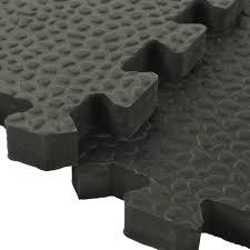 Exercise Floor by Exercise Room Flooring Pebble Top Foam Tiles
