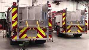 WATCH: Fresh Out Of The Factory, Here's One Of Detroit's New Fire ... Detroits New Fire Engine Taken Out Of Service Less Than Day After Spartan Motors Completes Acquisition Smeal Fire Apparatus American Lafrance 900 Series Midmount Ladder Chicagoaafirecom A Brand Home Facebook Turntable Ladder The Lesser Slave Regional Service In Alberta Pumpers Custom Midship Sterling Va Smeal Fire Apparatus Aerial 105 Ft Rear Mount Danko Emergency County Ppares To Replace Three Trucks Local Trucks Co