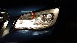 2014 2018 subaru forester headlight testing after changing