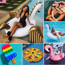 Inflatable Tubes For Toddlers by Inflatable Ride On Pool Floats U0026 Rafts Ebay