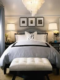Black White and Blue Bedroom Decor – So Into Decorating