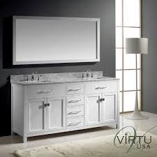 Bathroom Double Vanity Dimensions by 72