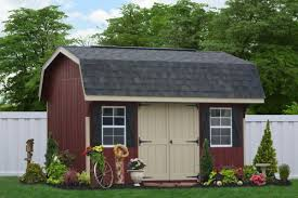 12x16 Gable Shed Materials List by Amish Portable Gambrel Sheds And Barns Buy Direct