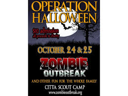 Halloween Activities In Nj by Operation Halloween And Zombie Outbreak In Barnegat October 24 25