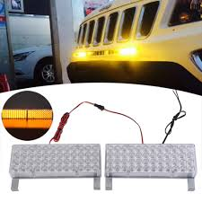 NºWholesale New 2 X 48 96LED Car Truck Flash Flashing Strobe Light ...