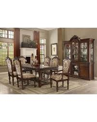 Wycliff Collection 601508SET 8 PC Dining Room Set With Table China Cabinet 4