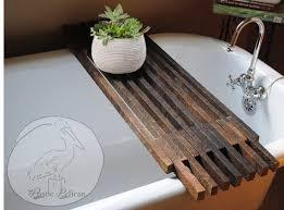 diy bathtub caddy with reading rack best 25 bathtub caddy ideas on bath caddy bath shelf