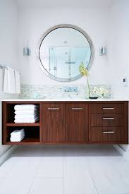 A Mid-Century Home That Cleans Up Nicely Small Mid Century Modern Bathroom Elegant Inspired 37 Amazing Midcentury Modern Bathrooms To Soak Your Nses Design Vanity Hd Shower Doors And Paint In Remodel Floor Tile Best Of Ideas For Best Mid Century Bathroom Style Project Sewn With Metro Curtain 74 Most Magic Transform On Interior