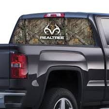 Realtree® Logo Rear Window Graphic-Realtree® Xtra Camo | Camouflage ...