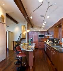 kitchen extraordinary track lighting vaulted ceiling within for
