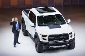FORD AT DETROIT: Refreshed Fusion, New Raptor Pickup Unveiled | The Star New Ford Trucks Bas 2018 Ford F150 At Bailey Auto Plaza Serving Graham Tx Iid Allnew Named North American Truckutility Of The Year For Sale Mullinax Apopka All Fmax With Cuttindge Technology Unveiled Recalls Pickup Over Dangerous Rollaway Problem Cars And Suvs In Manitoba Carman Takes Truck Leadership Offroad With Svt Raptor Adds Diesel New V6 To Enhance Mpg For 18 Whats Up The Fordtruckscom