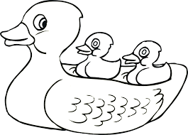 Coloring Pages Of Ducks And Ducklings Free Printable Pictures Electric Rocking Horse Toy Page Full