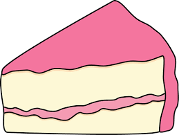 Slice Cake Clipart